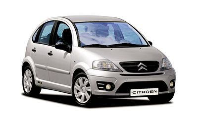 Economy class rental cars in Bulgaria Citroen C3 with 4 doors