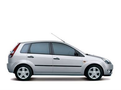 Economy class rental cars in Bulgaria Ford Fiesta with 4 doors